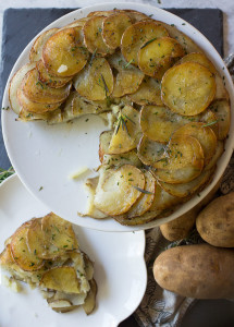 Potato Galette: A Gluten Free, Vegan, 3 Ingredient Dish